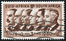 Pierwszorzędni ministrowie Południowa Afryka Zdjęcia Stock