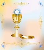 Pierwszy communion Zdjęcia Royalty Free