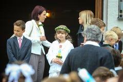 Pierwszy communion Zdjęcie Royalty Free