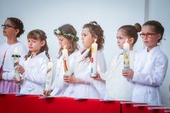 Pierwszy communion Zdjęcie Stock