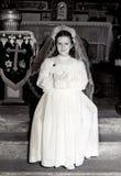 pierwszy communion rocznik Zdjęcia Stock