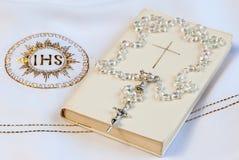 Pierwszy communion symbole Obraz Royalty Free