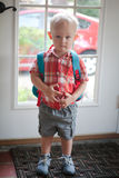 Pierwszy dzień Preschool Zdjęcia Royalty Free