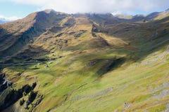 Pierwszy góry, Szwajcaria Zdjęcia Stock