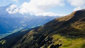 Pierwszy góry Szwajcaria Fotografia Stock