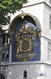 Pierwszy jawny Horologe od Paryż w Francja Zdjęcie Royalty Free