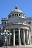 Pierwszy kościół Chrystus naukowiec w Boston Zdjęcia Stock