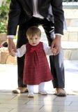 pierwszy kroki Zdjęcie Royalty Free