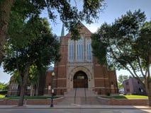 Pierwszy Luterański kościół, Sioux spadki Zdjęcie Royalty Free