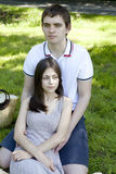 pierwszy miłość Obraz Royalty Free
