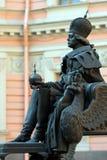 pierwszy pavel Petersburg st Obraz Stock
