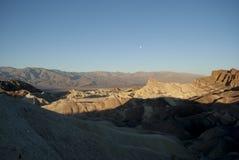 Pierwszy promienie słońce w górach Obrazy Royalty Free