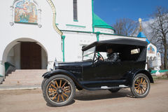 Pierwszy rynku masowego odbiorcy ` Ford modela T samochodowy ` Pogodny może dzień Obrazy Royalty Free