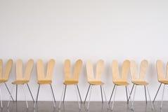 pierwszy rząd krzesło w ścianie Fotografia Royalty Free