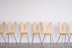 pierwszy rząd krzesło w ścianie Obrazy Royalty Free