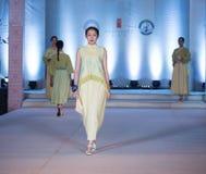 Pierwszy serii wiosny mody przedstawienie Zdjęcie Stock