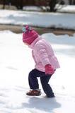 Pierwszy snow3 Fotografia Stock