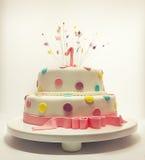 Pierwszy urodziny Zdjęcia Stock