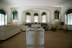 Pierwszy USA Sąd Najwyższy w Niezależności Hall w Filadelfia, Pennsylwania obrazy royalty free