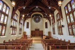 Pierwszy Zlany kościół metodystów Pasadena obrazy royalty free