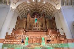 Pierwszy Zlany kościół metodystów Pasadena fotografia stock