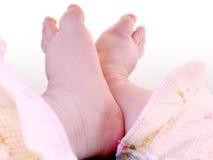 Pies 1 del bebé Imagenes de archivo