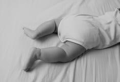 Pies 7 del bebé Fotos de archivo