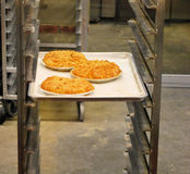 Pies in Bakery Royalty Free Stock Photos
