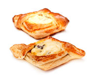 Pies With Curds Stock Images