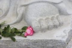 Pies de Buddha Fotos de archivo