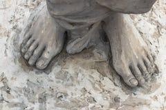 Pies de Jesús Fotografía de archivo libre de regalías
