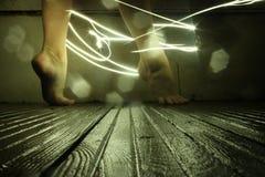 pies de los bailarines imagen de archivo libre de regalías
