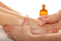 Pies de masaje Fotos de archivo libres de regalías