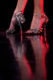 Pies del baile. Fotos de archivo libres de regalías