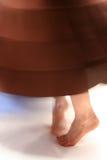 Pies del baile Foto de archivo libre de regalías