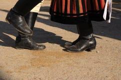 Pies del baile Fotografía de archivo libre de regalías
