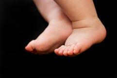 Pies del bebé Fotos de archivo libres de regalías