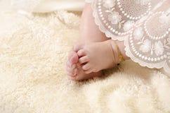 Pies del bebé Imágenes de archivo libres de regalías