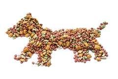 pies je karmowy małego chcieć Zdjęcie Stock