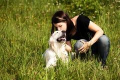 pies kochający zdjęcie royalty free