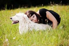 pies kochający zdjęcia stock