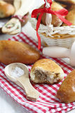 Pies with minced meat Royalty Free Stock Images