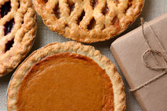Pies and Parcel Royalty Free Stock Photography