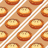 Pies Seamless Pattern Royalty Free Stock Image