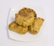 Pies with a stuffing Royalty Free Stock Images