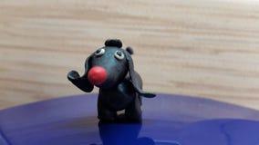 Pies zabawki ręki robić Obrazy Royalty Free