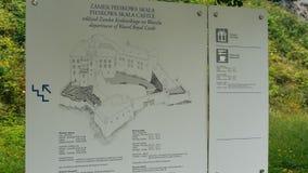 Pieskowa Skala城堡 库存照片