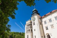 PIESKOWA SKALA,波兰- 2018年5月01日:城堡Pieskowa Skala nea 免版税库存图片