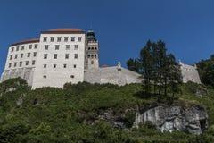 Pieskowa Skala. Castle in Jura KrakowskoCzestochowska Royalty Free Stock Images