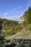 Pieskowa Skala Castle in National Park Stock Photo